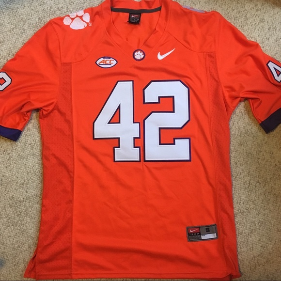 reputable site 8338f 0c1a1 NWT Clemson football jersey 42 Wilkins NWT